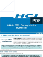 M&a in 2009
