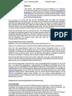 PS Commentary - 17.09.2009 Der ökonomische Biorhythmus