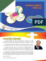 Estadística Evangélica España 2013