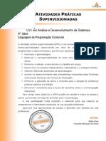 2013 2 CST ADS 4 Linguagem Programacao Comercial