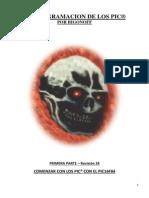 Manual Instrucciones PIC16F84A