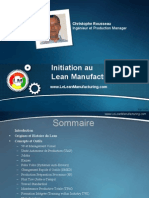 Initiation Lean Manufacturing