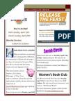 Newsletter - April 2014