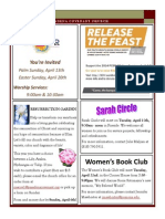 Newsletter - April 2014