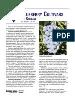 Blue Berry Cultivars for Oregon