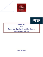 Manual Do Curso Equilibrio Acido Base Hidroelectrolitico