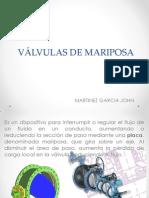 VÁLVULAS DE MARIPOSA