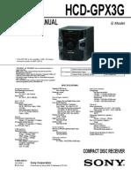 HCD-GPX3G