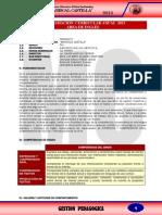 Programacion Curricular Anual 2014 - Cuarto