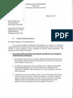 Newburyport Development Letter