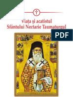 La vida y el acatisto de San Nectario el Taumaturgo, en rumano y espanol
