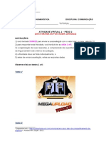 Atividade Virtual I Final 2012.1