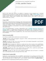 GPO (Grupo de Profissionais Oracle) - SQL padrão ANSI X SQL padrão Oracle