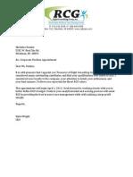 committe letter 2