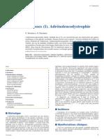 Lipidoses (I). Adrénoleucodystrophie