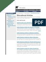 Shure - Educational Articles