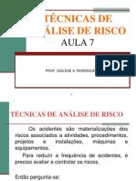 AULA7_ 2010Técnicas_AnáliseRisco