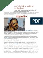 Palestinians Renew Calls to Free 'Leader-In-waiting' Marwan Barghouti