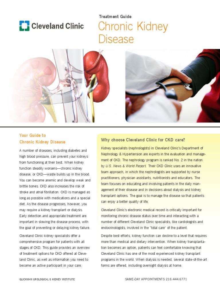 Chronic Kidney Disease Guide | Chronic Kidney Disease
