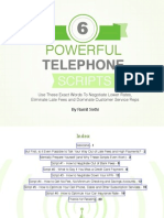 6 Powerful Telephone Scripts