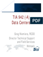 TIA-942 Data Centers Niemiera