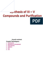 Sythesis of III - V