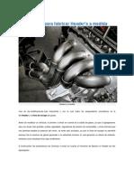 Formula Para Fabricar Header