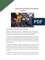 Impacto de la Explosión de las Plantas Termonucleares en Japón