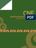 Balance y Recomendaciones 2013 del Proyecto Educativo Nacional - CNE