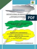 Reporte Servicio Social 1