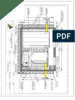 b) Montaza Bio-Cro-Pro Casa 2 -Presjek - Prisustvo Podzemnih Voda