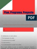 Plan Programa Proyecto