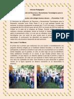 informe pedagogico entre pares 2
