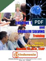 "Kanaidi, SE., M.Si., cSAP (Pemateri) Bersama Peserta Pelatihan  ""CREATIVE THINKING & PROBLEM SOLVING"" di Arthaloka Building Jakarta, 27-28 Maret 2014"