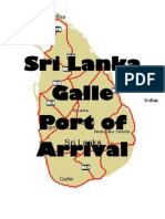 Galle - Sri Lanka - Port of Arrival