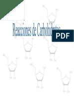 8 Reacciones de Carbohidratos
