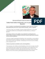 Entrevista Del Premier Cornejo a La Agencia Andina