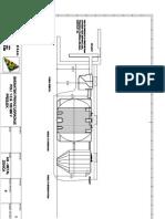 b) Montaza POLI 1 E.S.100 - Presjek