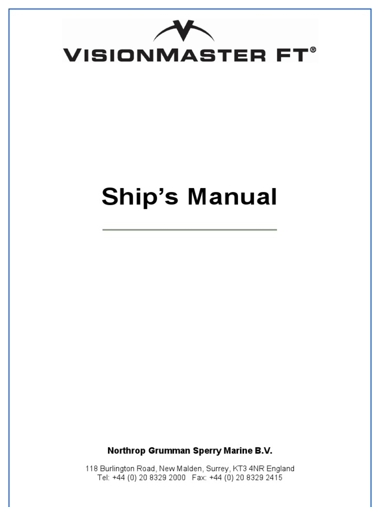 Sperry Marine Radar Vision Master License Copyright Physical Terminal Block Wiring Diagram Furthermore Nmea 0183 Cable