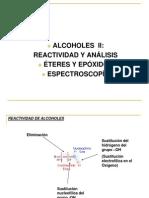 4 alcoholes II, éteres y epóxidos+espectrosc