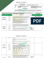 Planeación de inglés primer grado, primera unidad secundaria