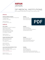 Directory of Medical Institutions - MARFAN