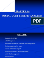 Chapter 14 Social Cost Benefit Analysis