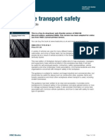 HSG136 Workplace Transport Safety