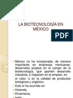LA BIOTECNOLOGÍA EN MÉXICO EXPOSICION.pptx