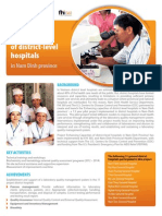 Enhancing capacities of district-level hospitals in Nam Dinh province