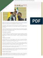 "Servindi » Conamaq expresa su ""total repudio"" a proyecto de ley minera promovido"