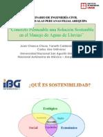 Presentación Concreto Permeable una Solución Sostenible en el Manejo de Aguas de LLuvias ver02