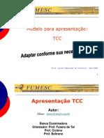 04-Modelo Apresentacao TCC