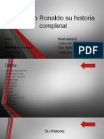 Cristiano Ronaldo Su Historia Completa!